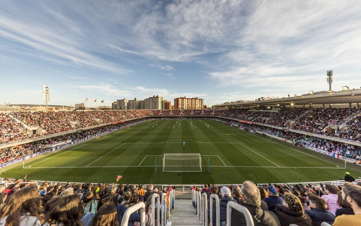 The demolition of the Miniestadi will be done mechanically to help recycle 80% of the material