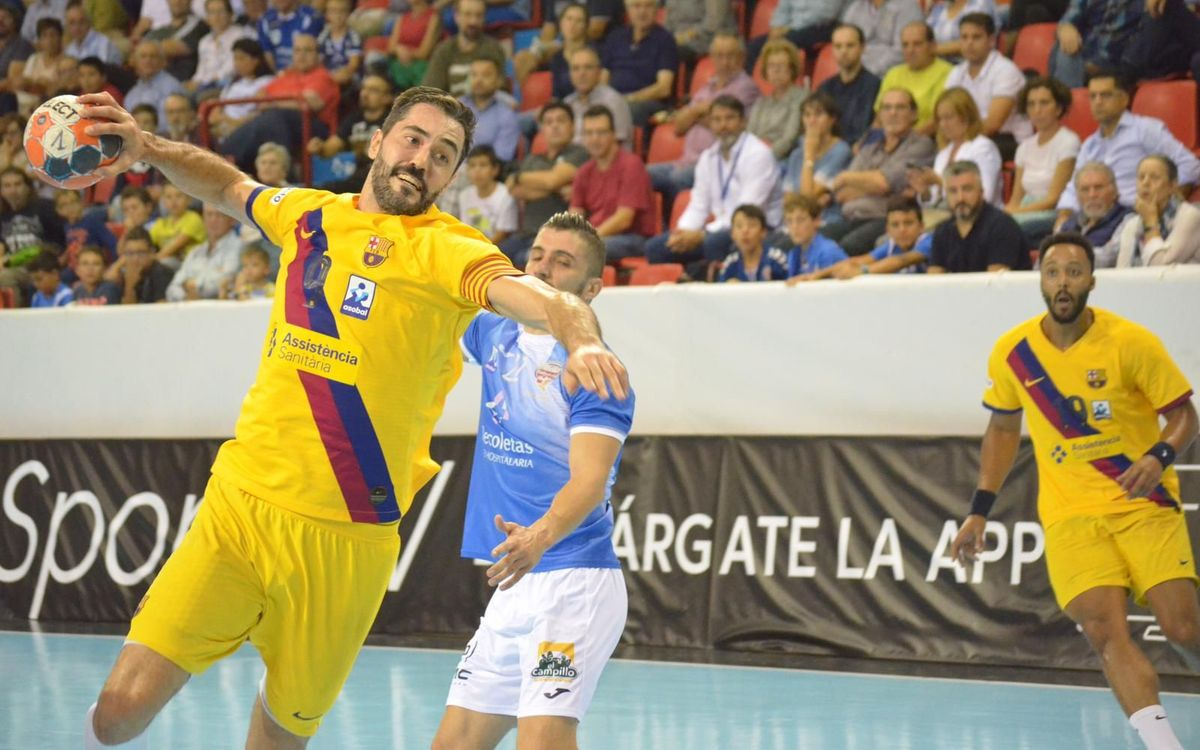 Recoletas Atlético Valladolid 27-39 Barça: Incontestable reaction