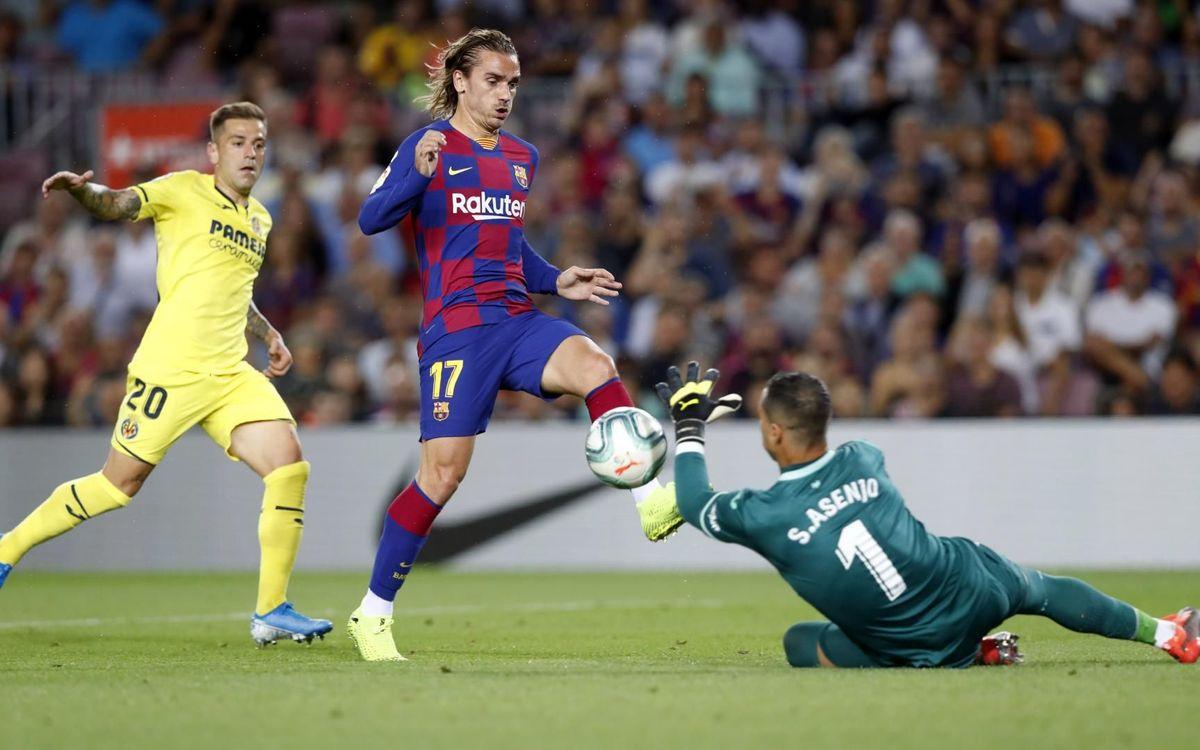 Previa: Un Barça - Villarreal para levantar el telón