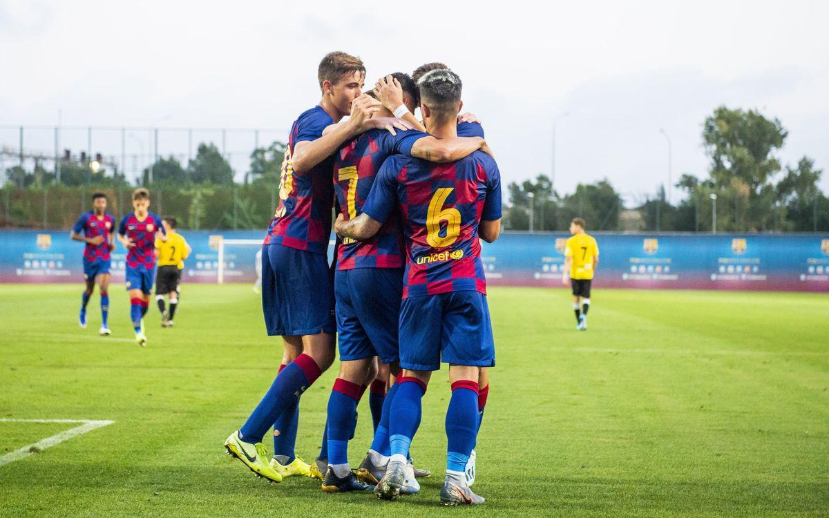 Juvenil A - Lleida: Recital per delectar l'espectador (5-0)