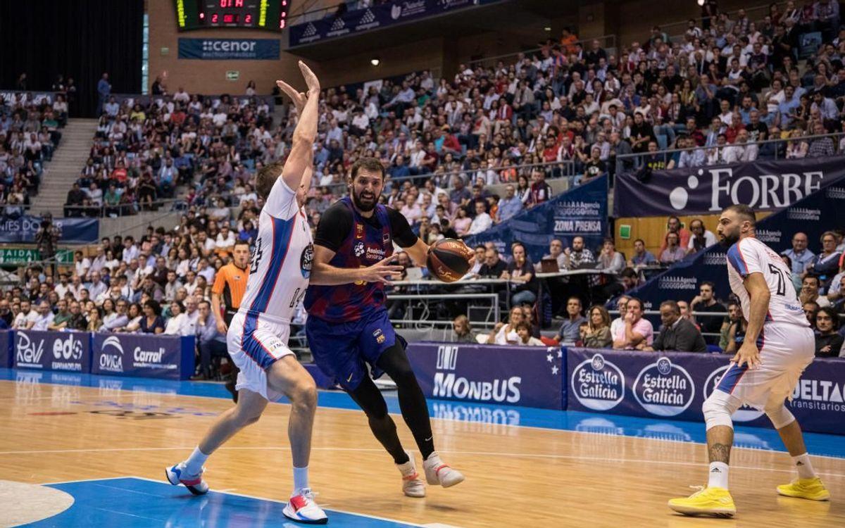 Obradoiro– Barça: Starting the league season with a win (86-92)