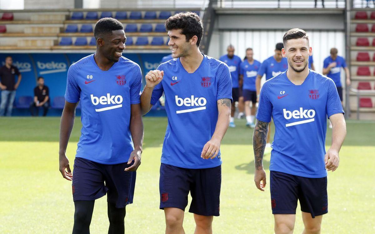 Le groupe du Barça pour le duel de Getafe