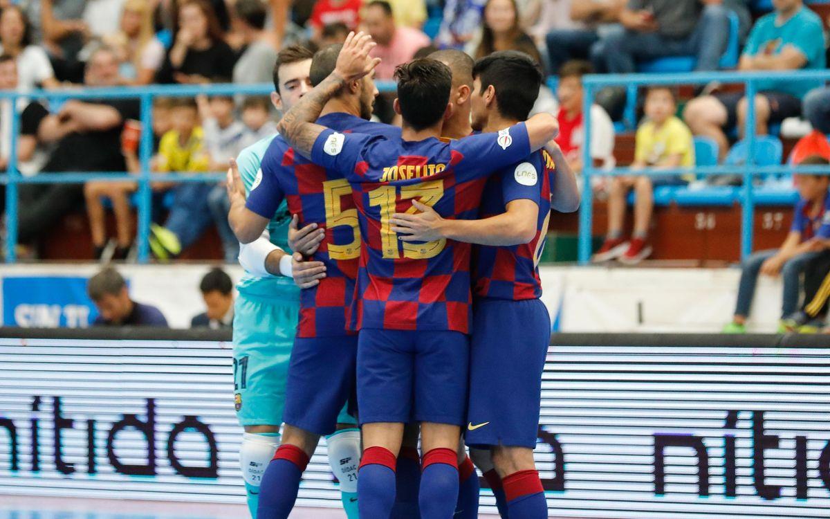 O Parrulo Ferrol - Barça: Un líder sólido (4-6)