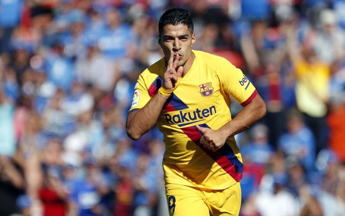Getafe CF - FC Barcelona: Triunfo trabajado en el Coliseum (0-2)