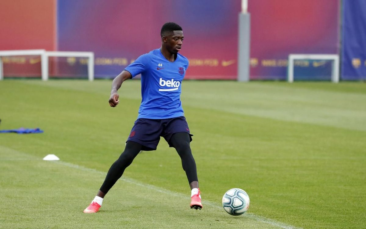 Dembélé out with a muscle problem