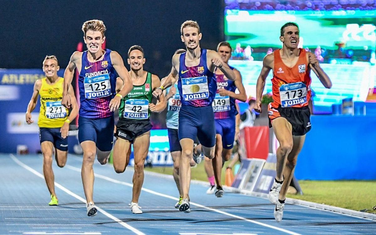 Adrián Ben, a la final dels 800 metres del mundial