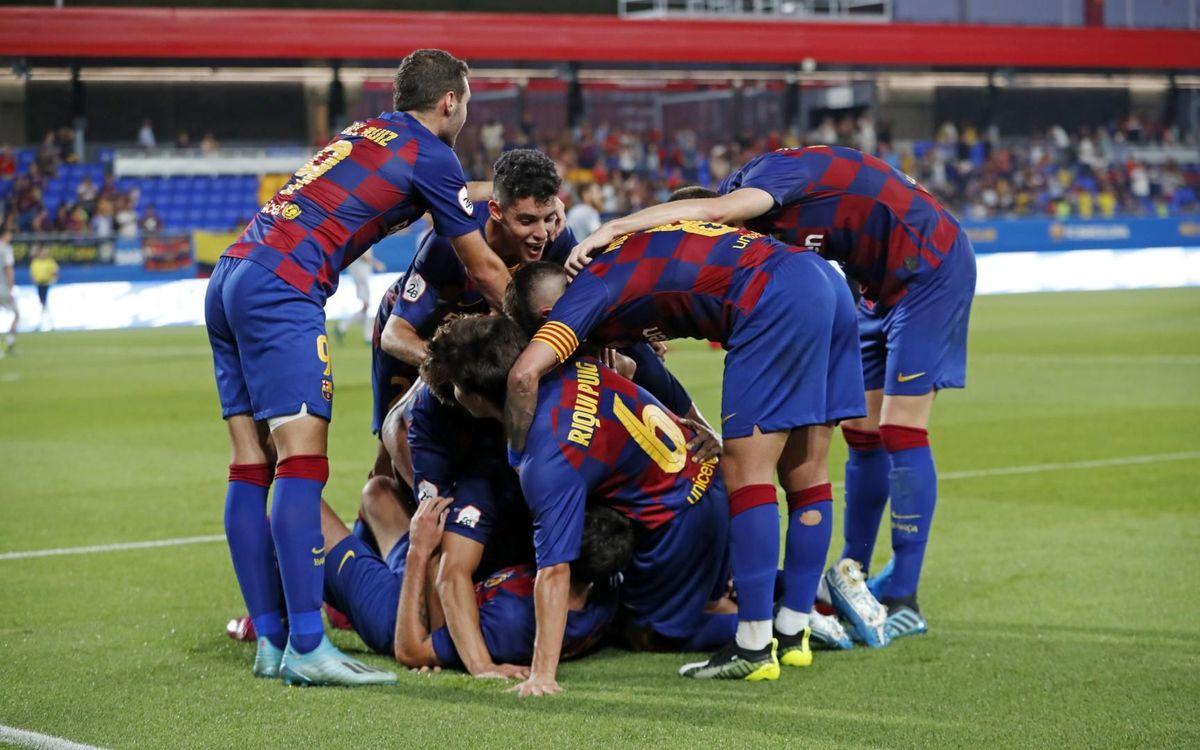 Resultado de imagen de FCB B VS AT.LEVANTE