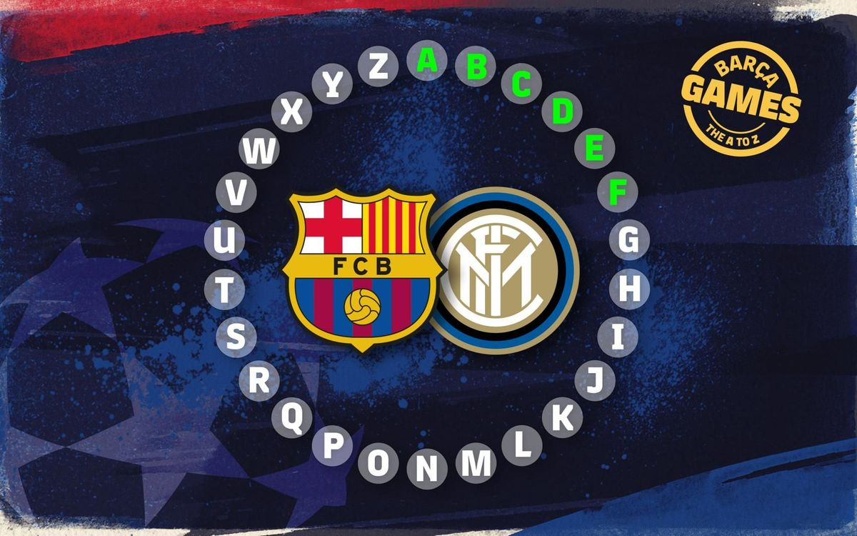The ABC of Barça v Inter