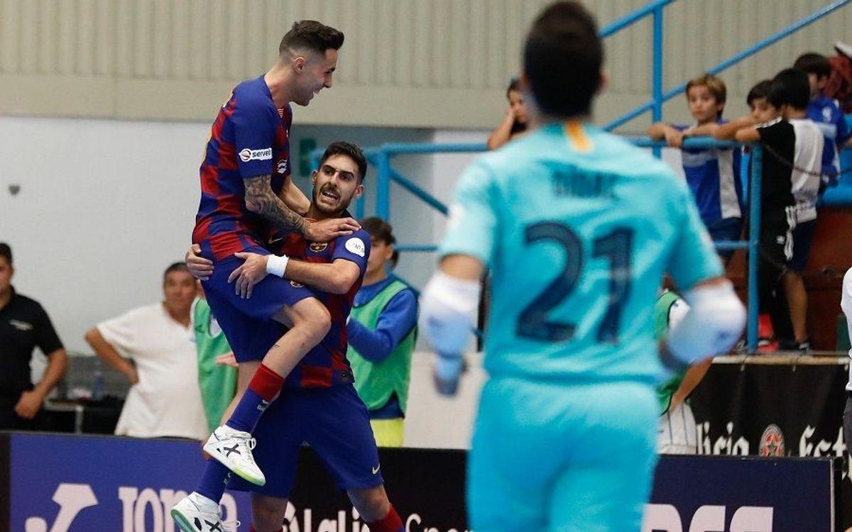 El rey del gol pasa examen en Tudela