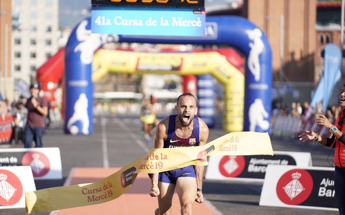 Artur Bossy s'imposa a la cursa de la Mercè