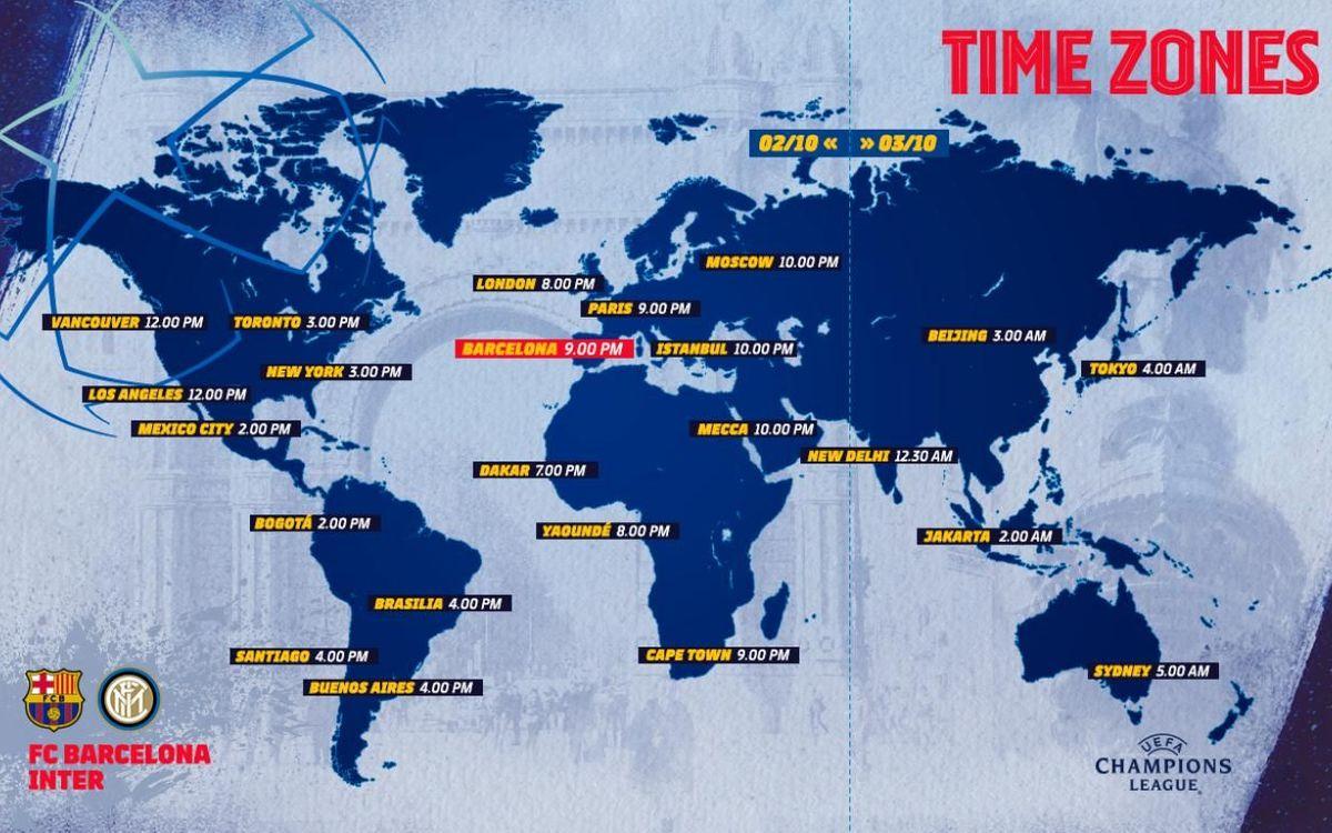 Où et quand voir Barça-Inter