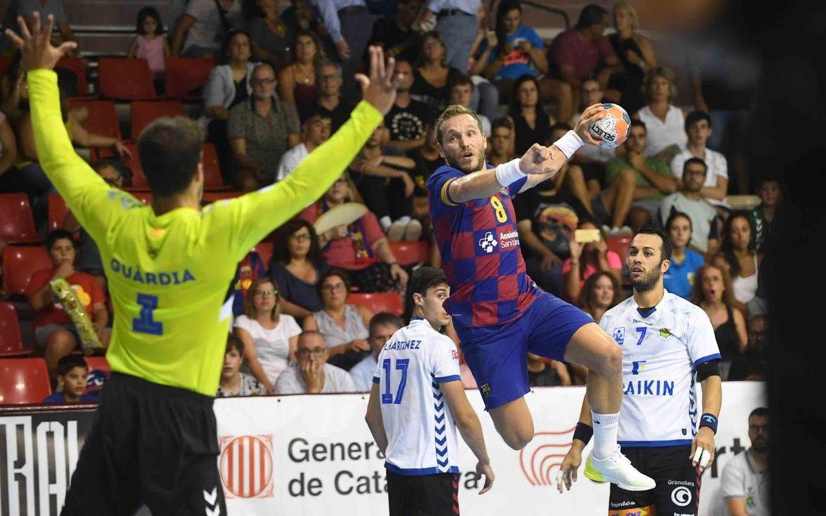 Barça – Fraikin Granollers: Es el momento para el derbi en el Palau