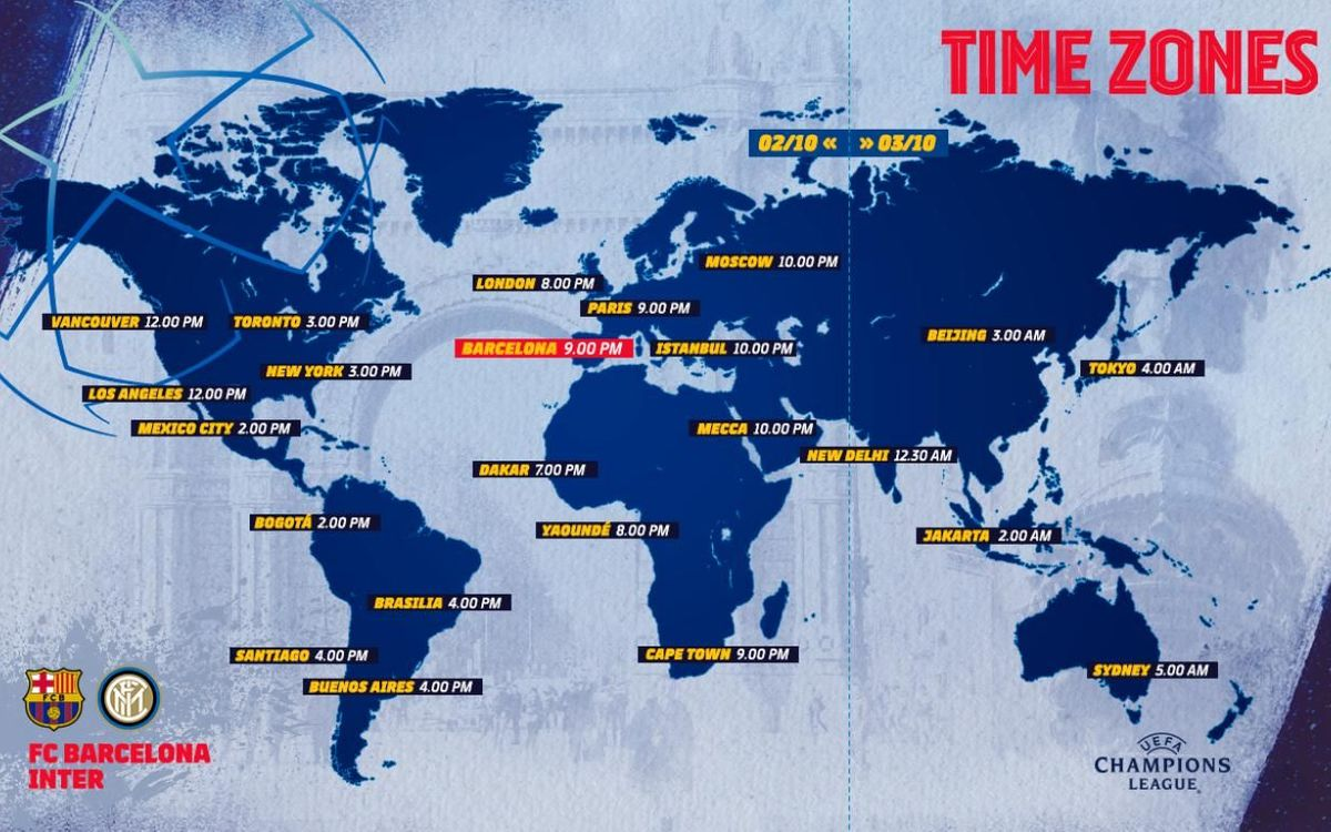 When and where to watch Barça-Inter