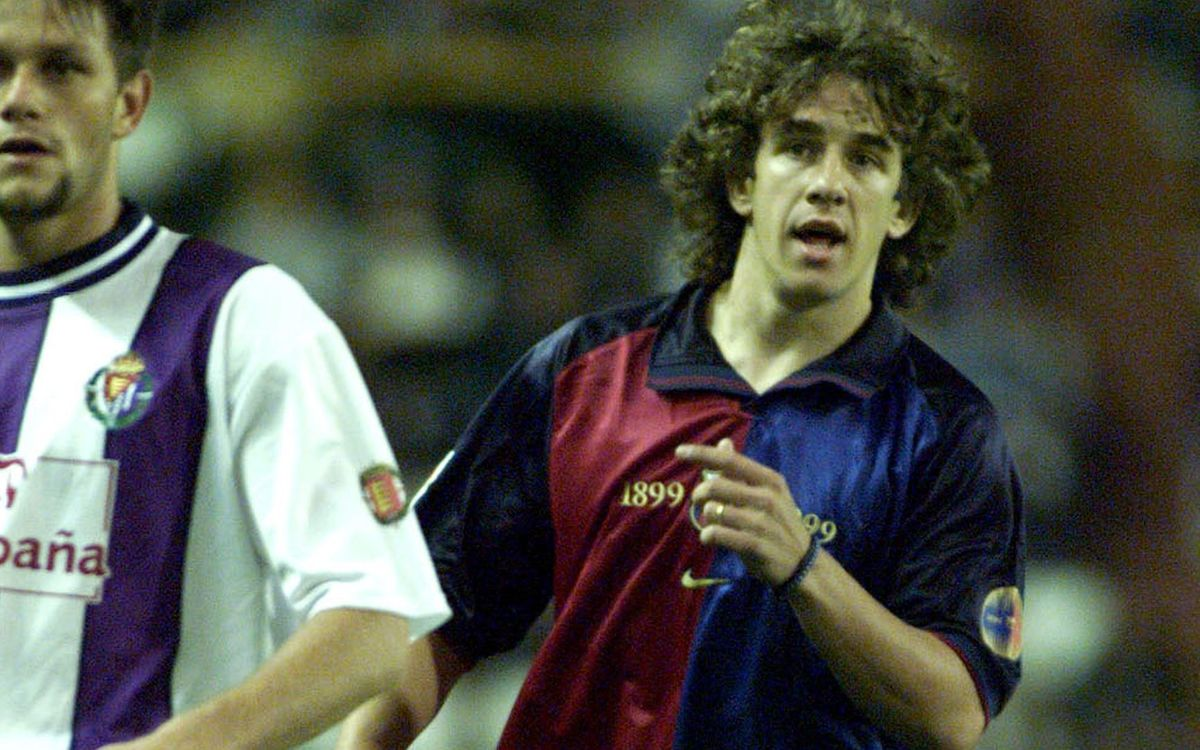 Es compleixen 20 anys del debut de Carles Puyol