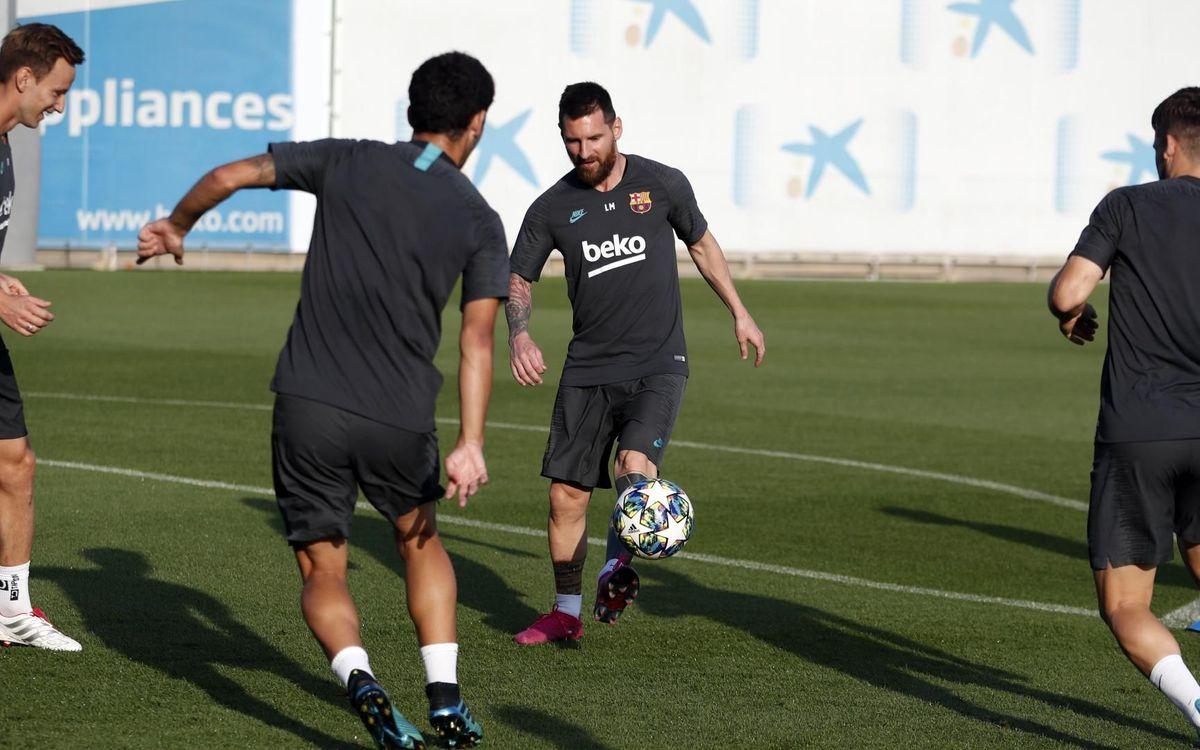 يوم واحد يفصلنا عن مباراة : برشلونة - أنتر  Mini_2019-10-01-ENTRENO-49