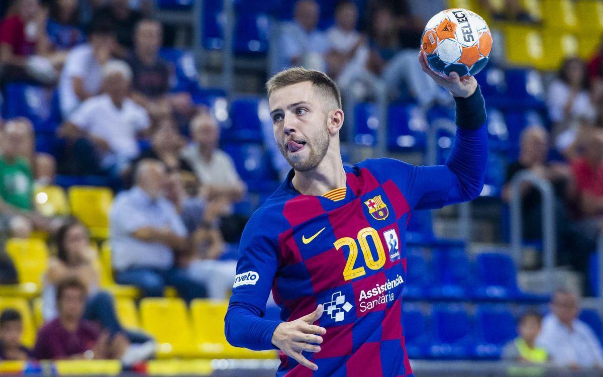 Barça 38-24 Granollers: Derby win