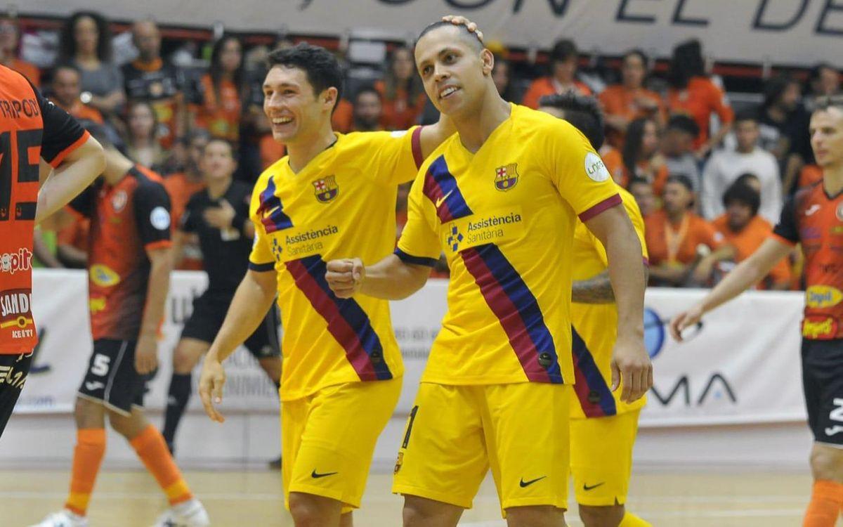 Aspil – Barça: Segueixen guanyant... i golejant (3-6)