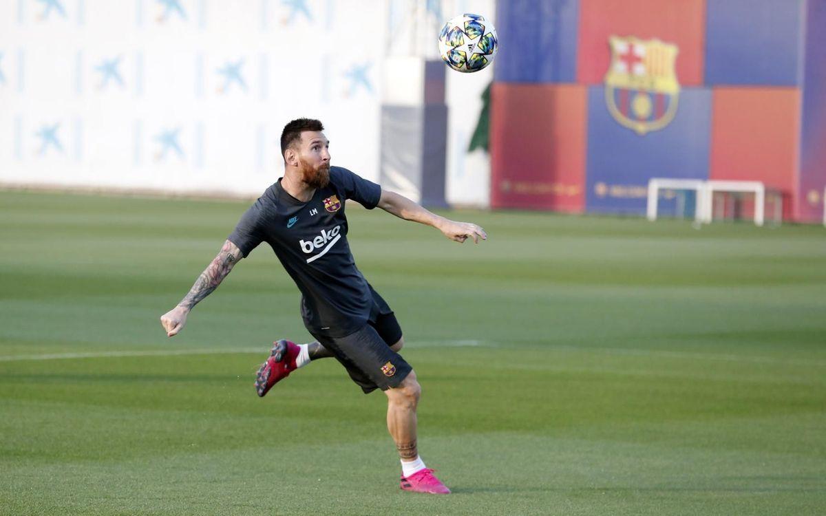 Messi et Dembélé de retour !