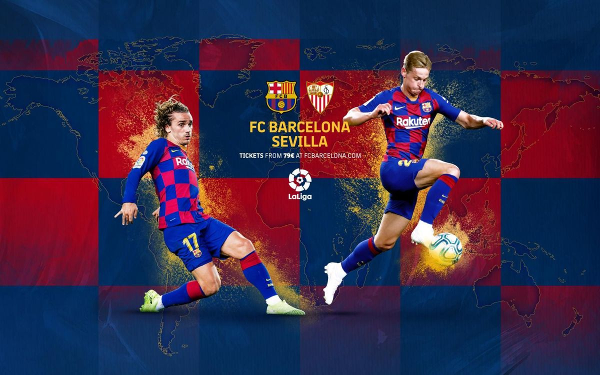 When and where to watch Barça v Sevilla