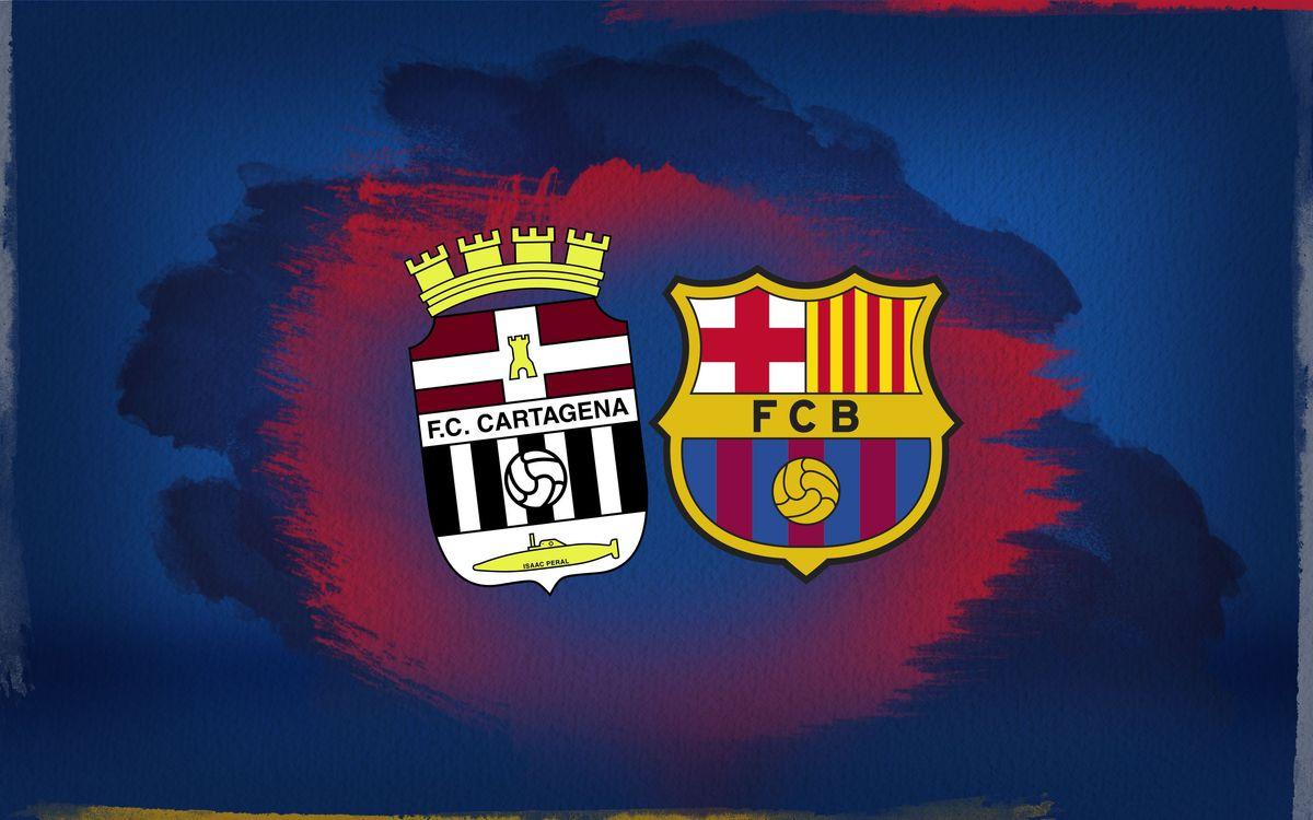 El Barça jugarà un partit amistós i solidari a Cartagena el 13 de novembre