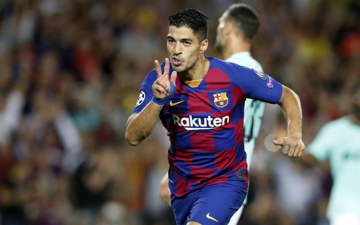 Luis Suarez a inscrit une jolie reprise de volée au match aller