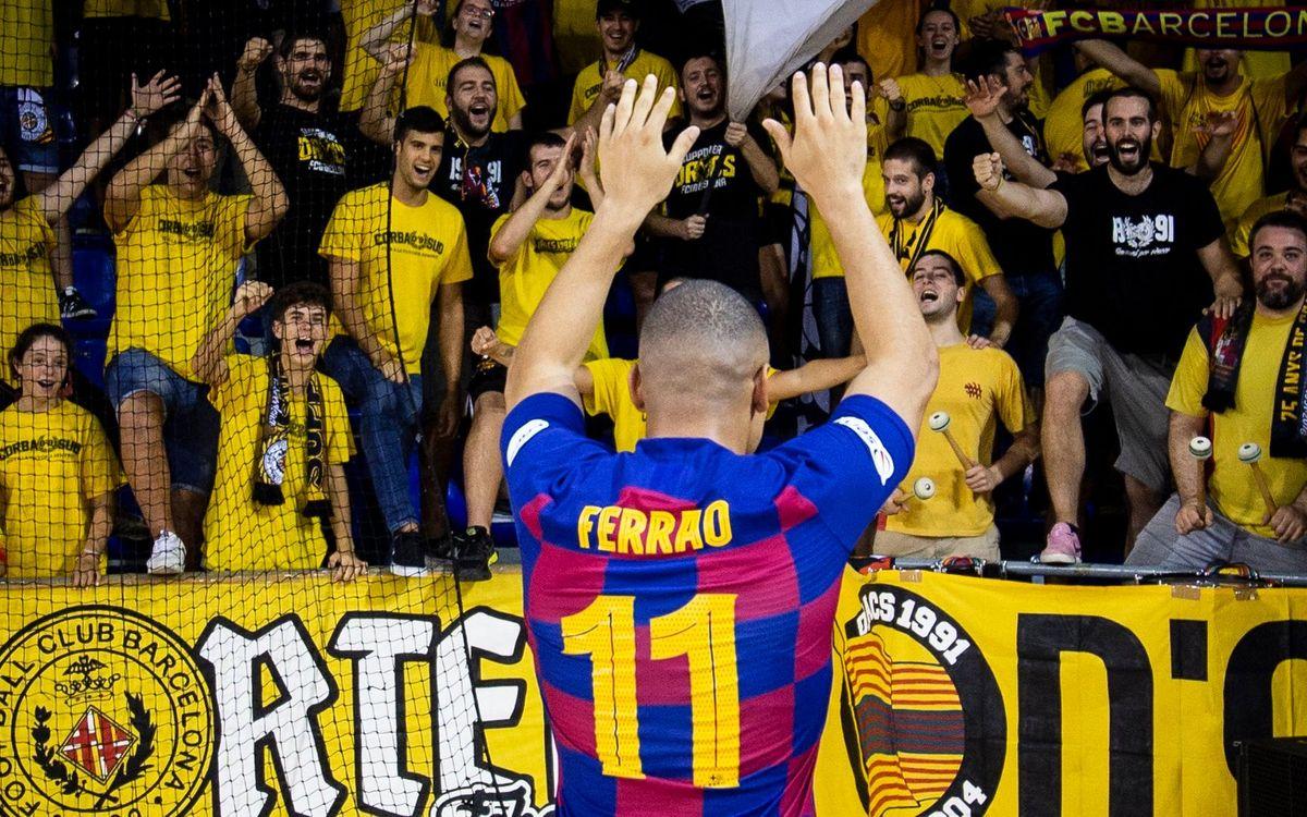Ferrao alcanza los 200 goles con el Barça