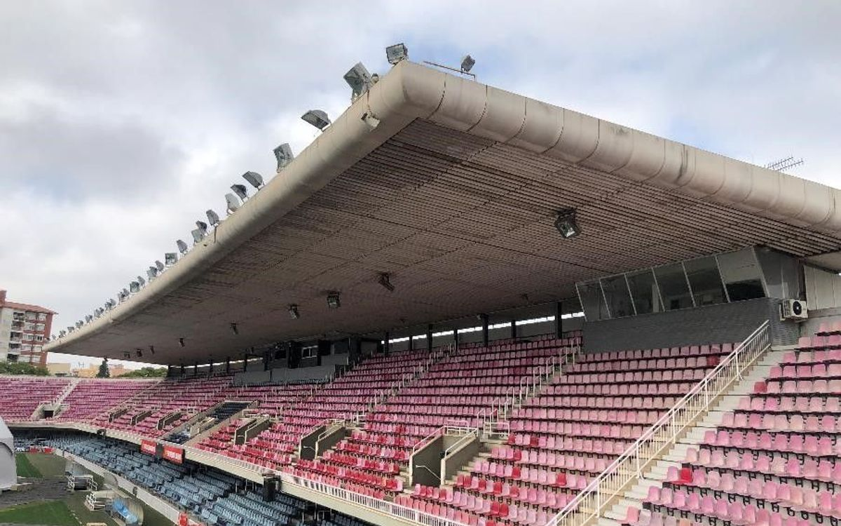El Ayuntamiento concede la licencia para el derribo del Mini, un paso más en la transformación del entorno del Camp Nou