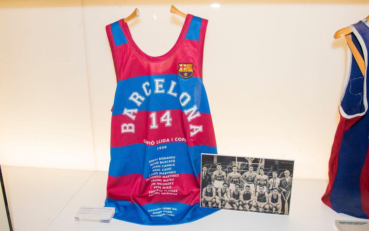 Samarreta basquet 1959 Buscato Bonareu