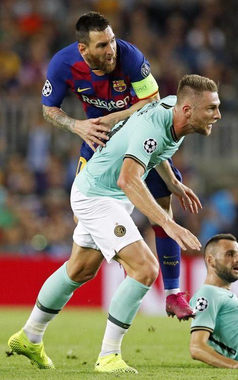صور مباراة : برشلونة - إنتر 2-1 ( 02-10-2019 )  13-OTRO-BARCELONA-INTER