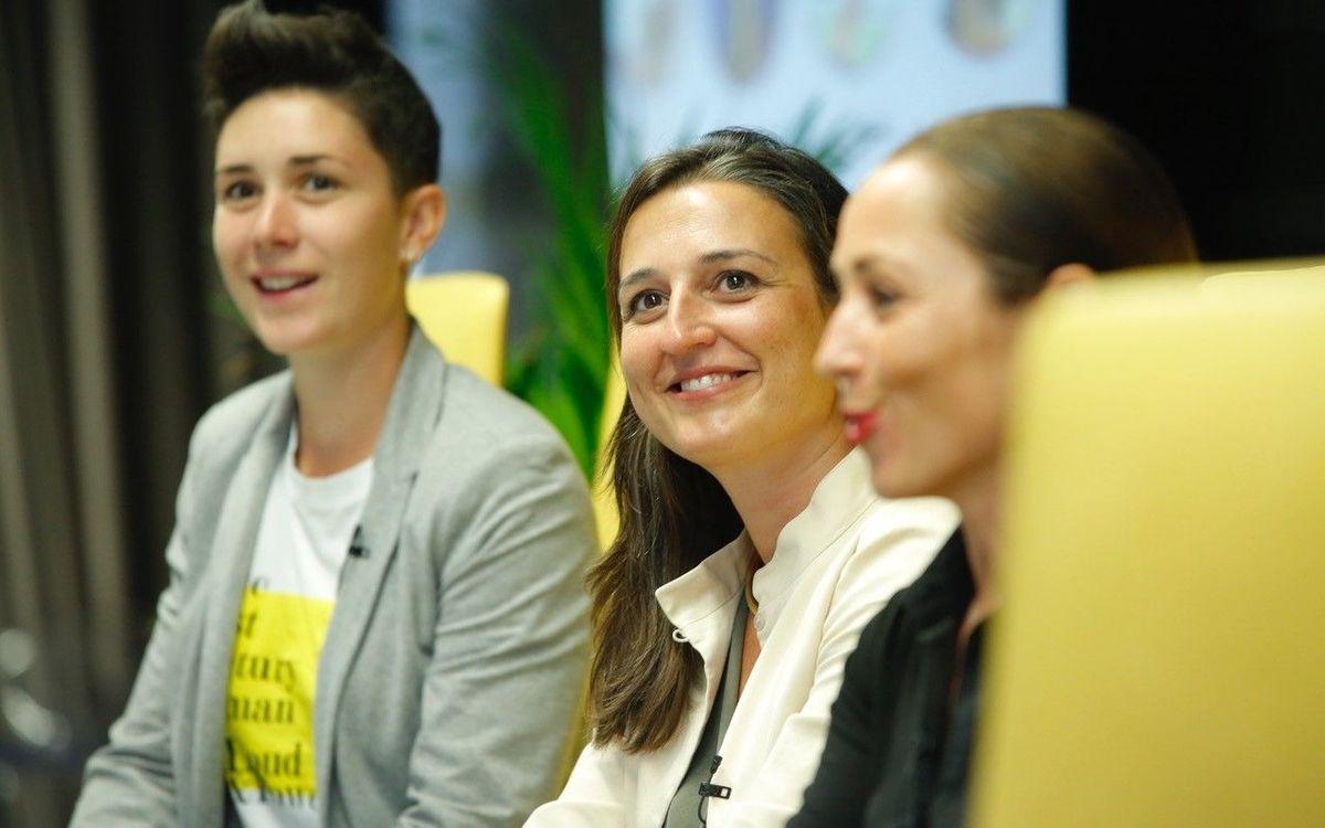 Maria Teixidor i Laura Ràfols participen a la 6a edició del Congrés Women Evolution