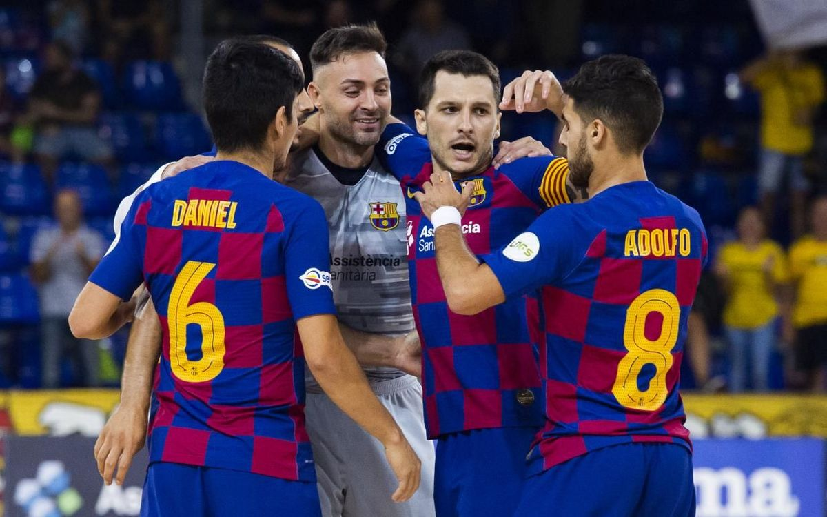 Barça 3-1 Jaén: Ready for Europe