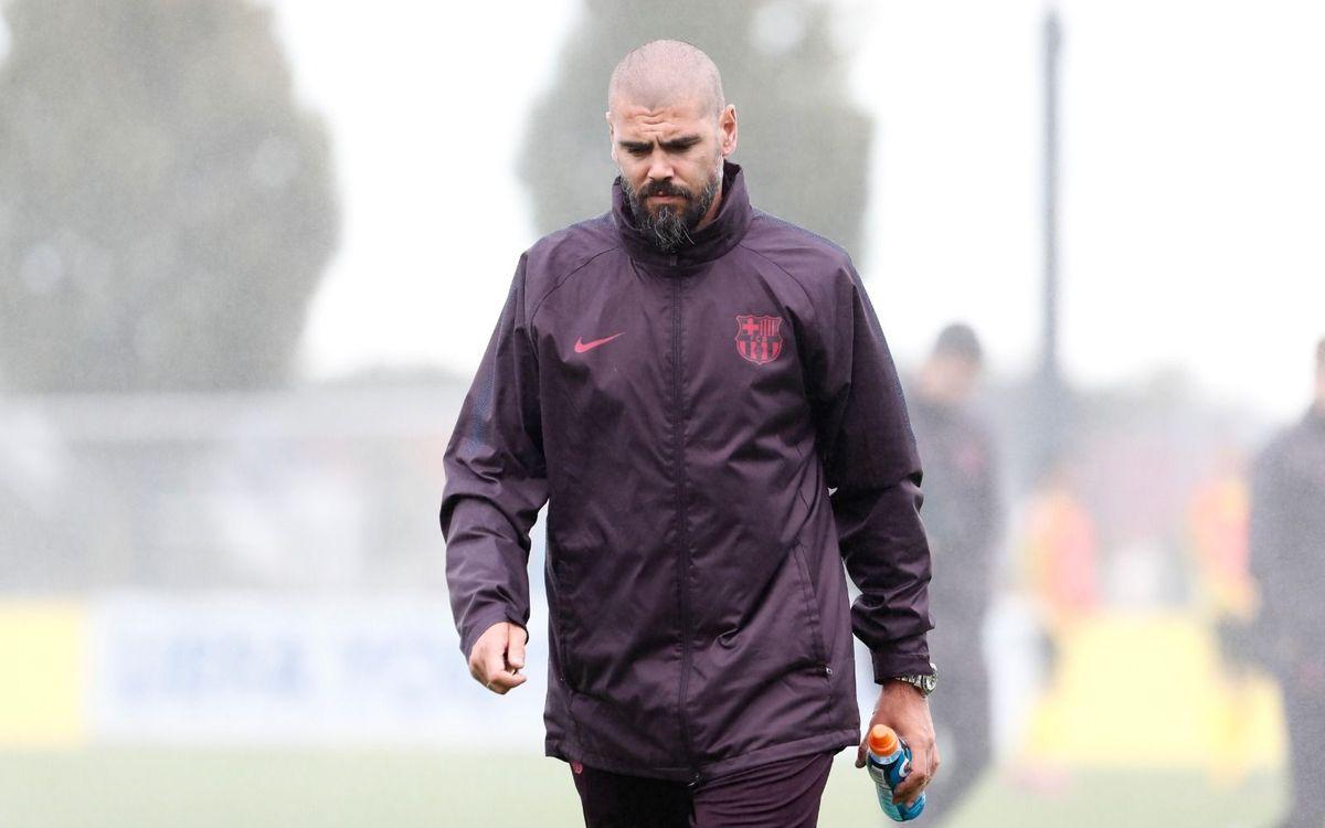 Victor Valdés no viajará mañana a Tarragona