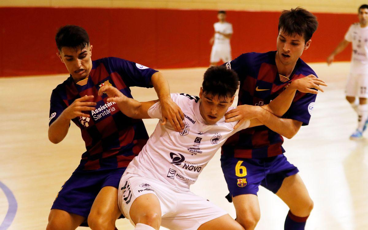 Barça B – Bisontes FS (2-2): Control sense recompensa
