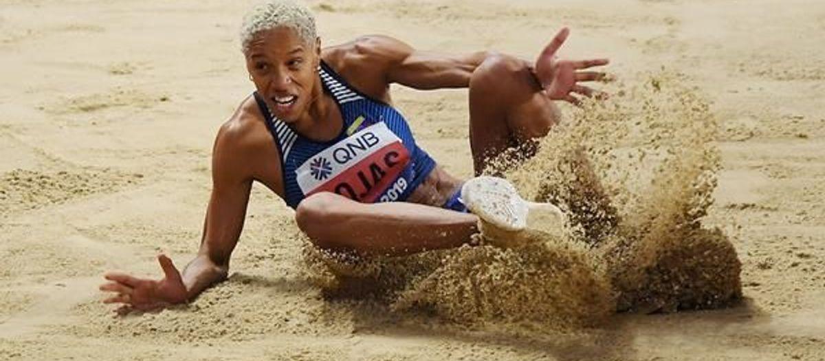 Yulimar Rojas, campiona del món per quarta vegada
