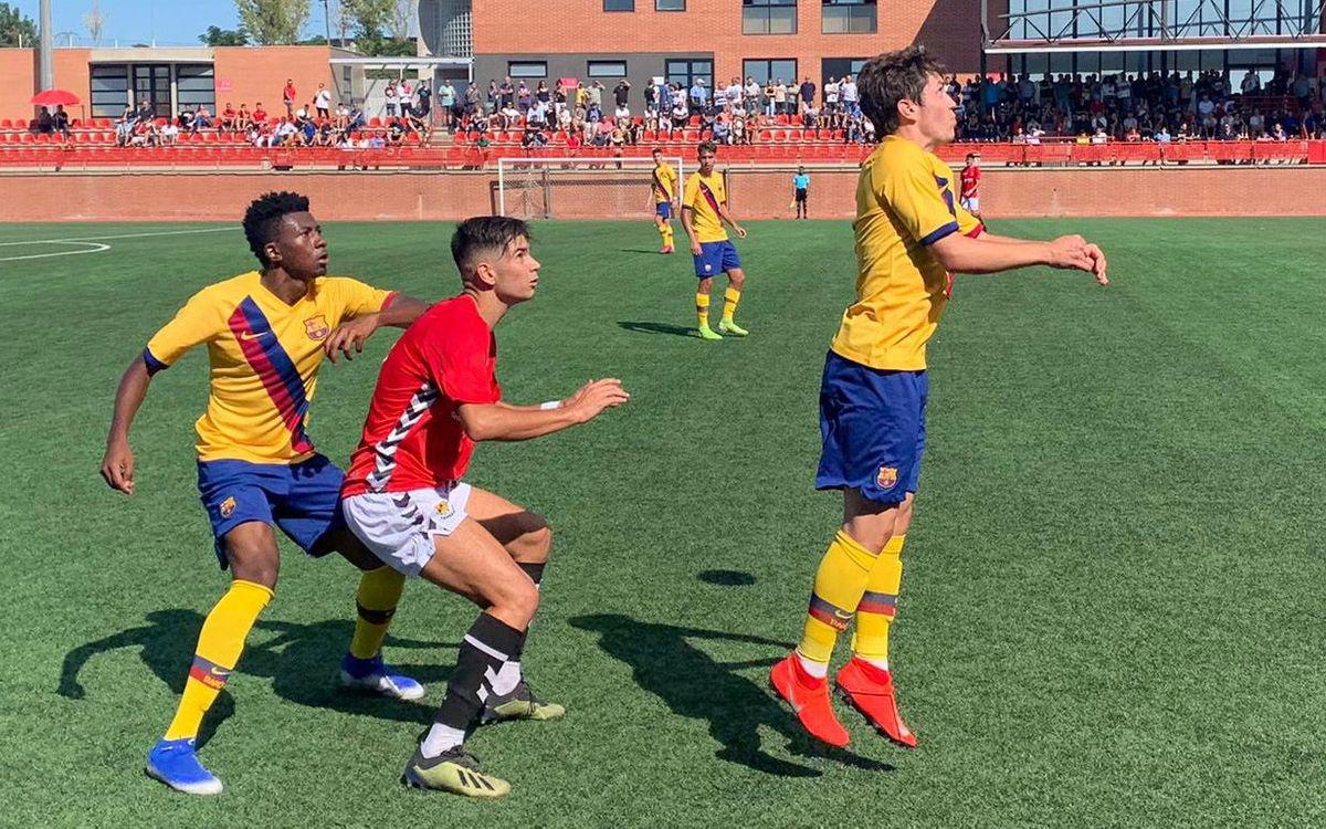 Nàstic de Tarragona - Juvenil A: Premio a la paciencia (1-2)