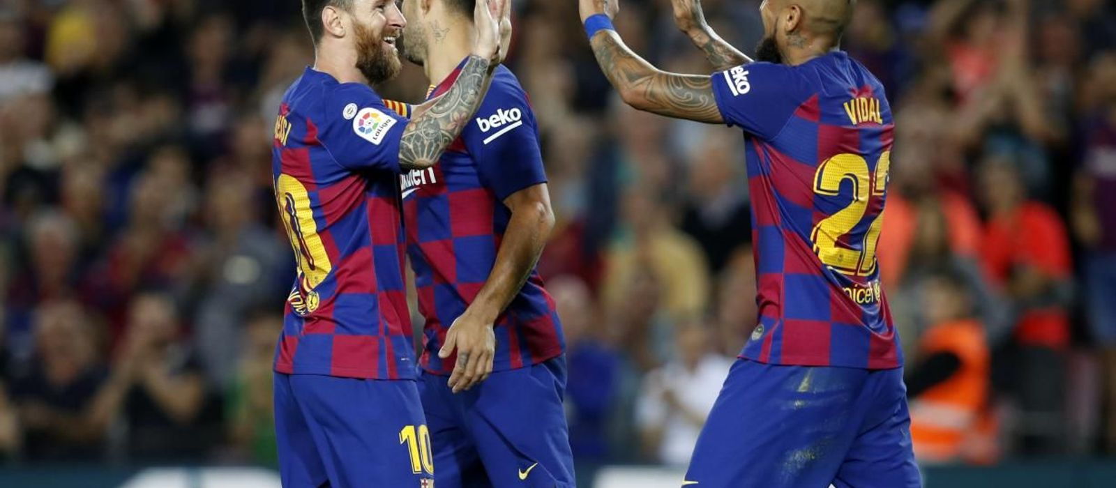 Goals everywhere for FC Barcelona