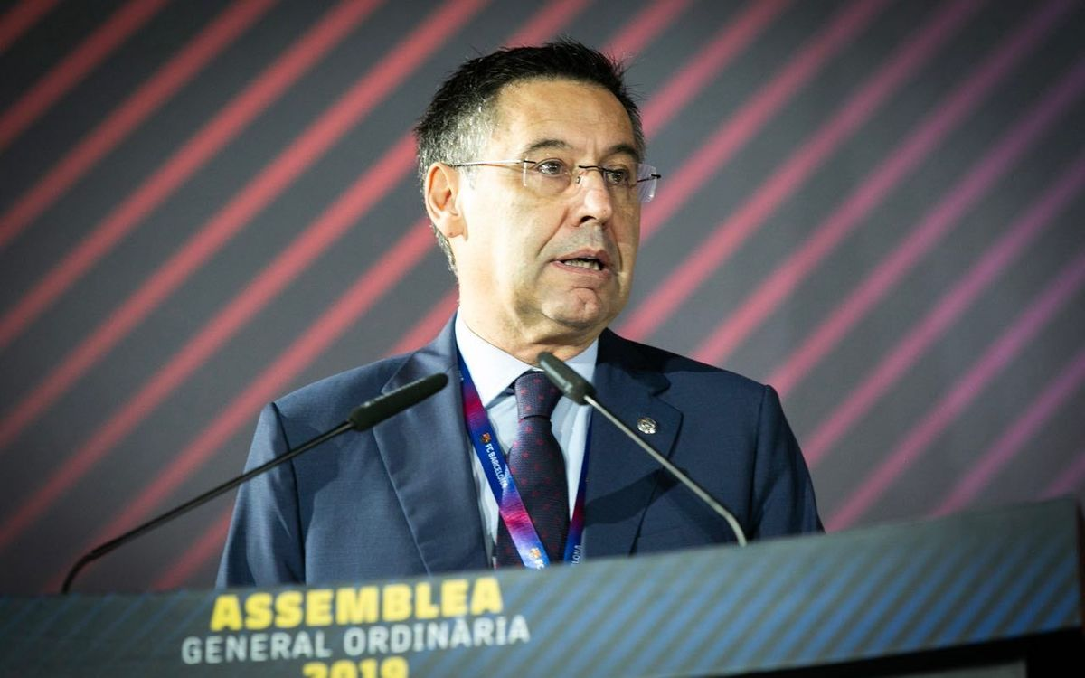 Bartomeu: 'Today, Barça is more successful, stronger economically, more innovative and more committed'