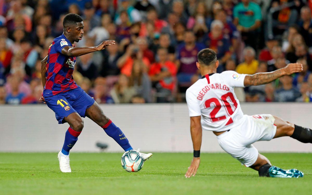 صور مباراة : برشلونة - إشبيلية 4-0 ( 06-10-2019 )  2019-10-06-BARCELONA-SEVILLA-55