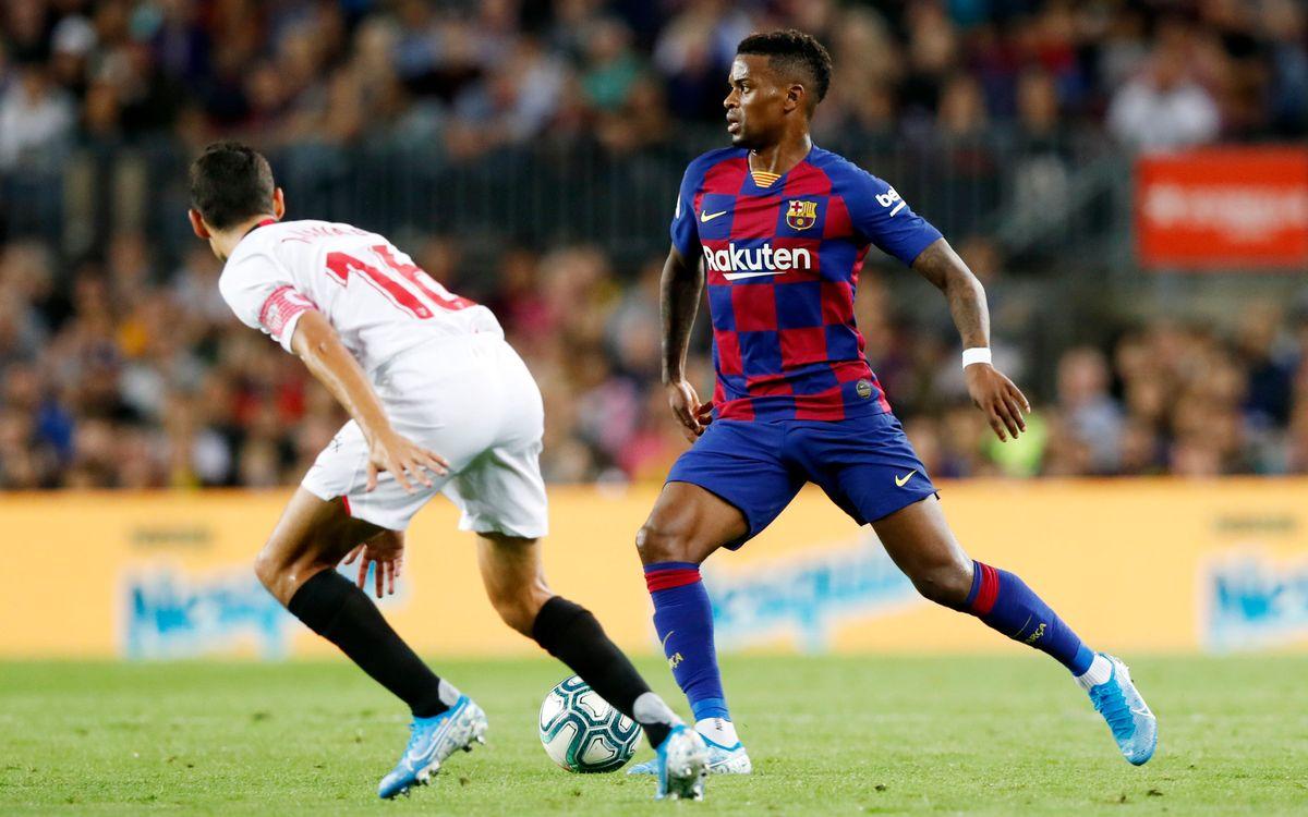 صور مباراة : برشلونة - إشبيلية 4-0 ( 06-10-2019 )  2019-10-06-BARCELONA-SEVILLA-66