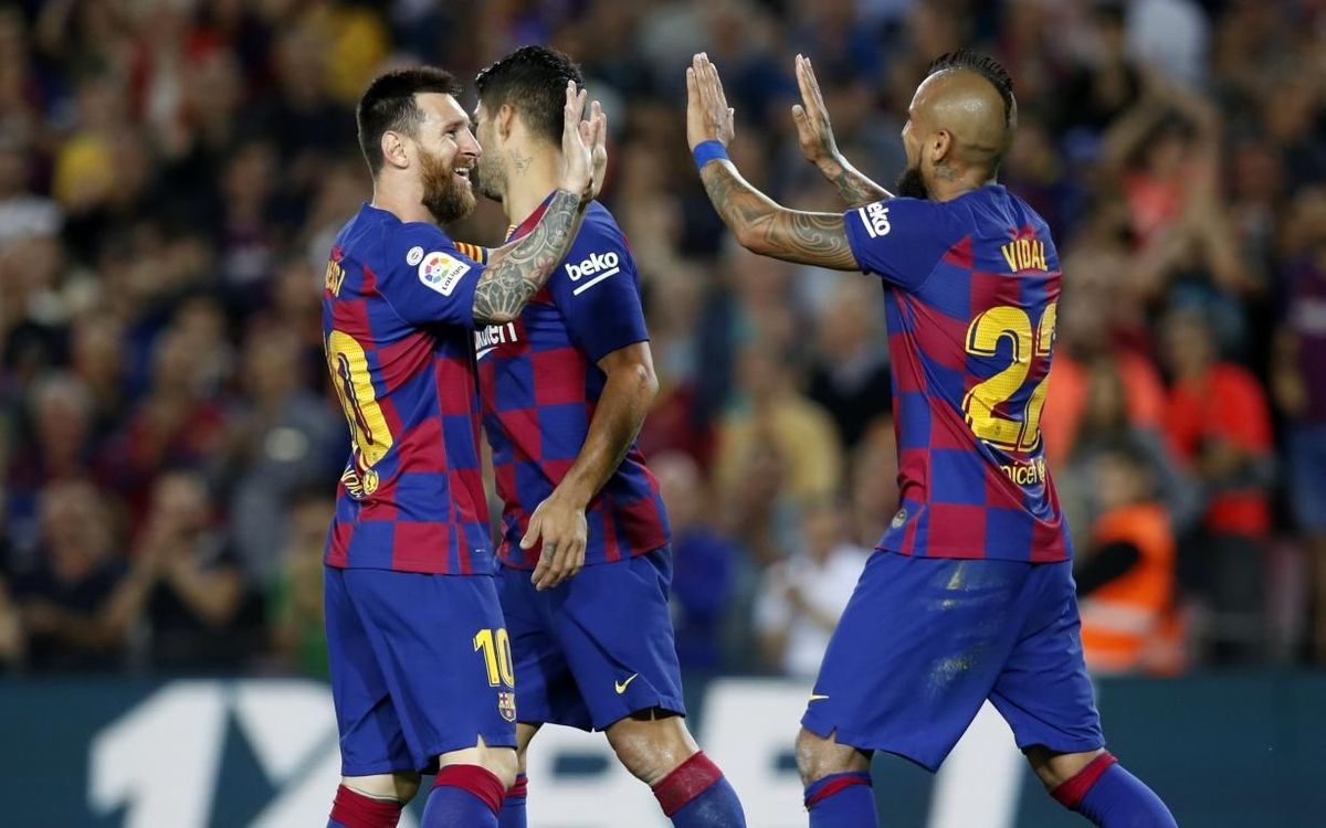 FC Barcelone - Séville : Puissance 4 (4-0)