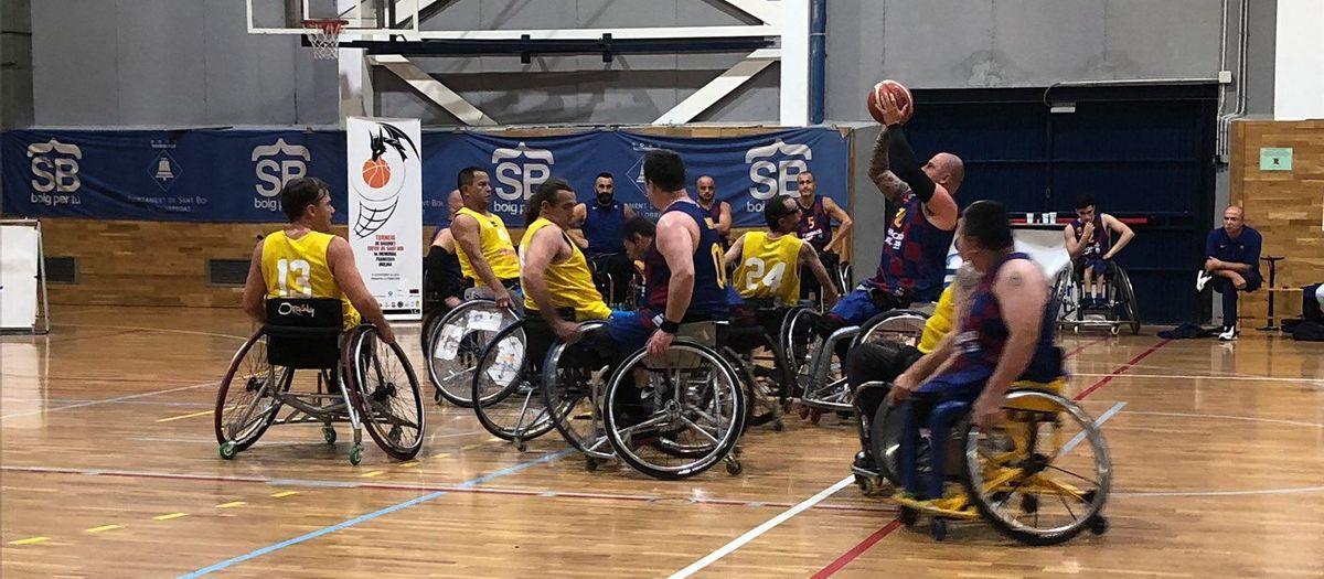 El Barça bàsquet en cadira de rodes s'emporta el Torneig Francisco Molina