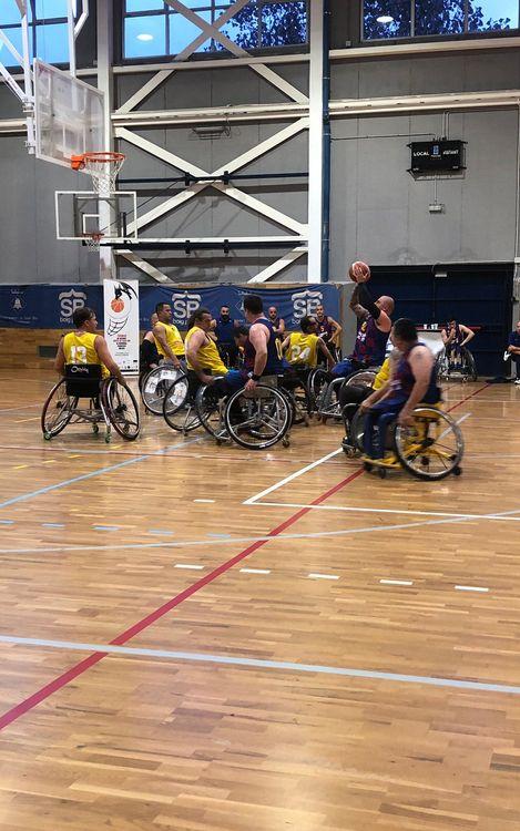El Barça baloncesto en silla de ruedas se lleva el Torneo Francisco Molina