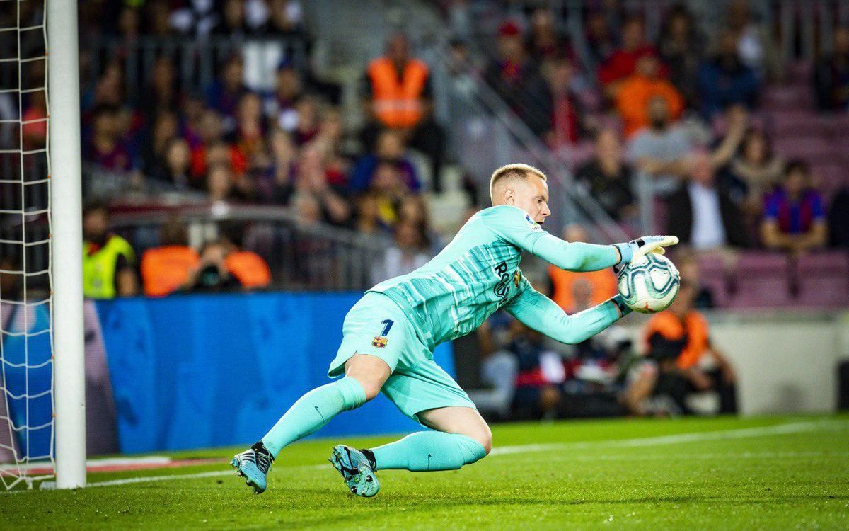 Ter Stegen reaches 200 games at FC Barcelona