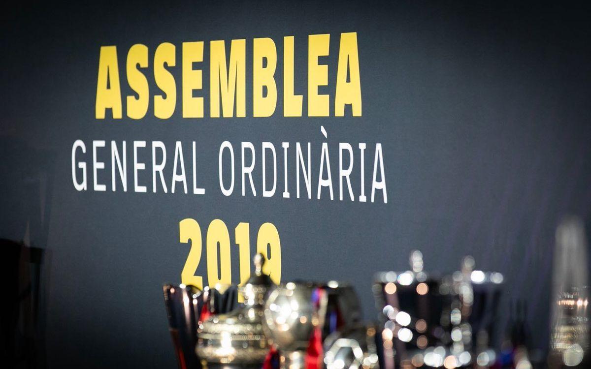 Assemblea General Ordinària 2019