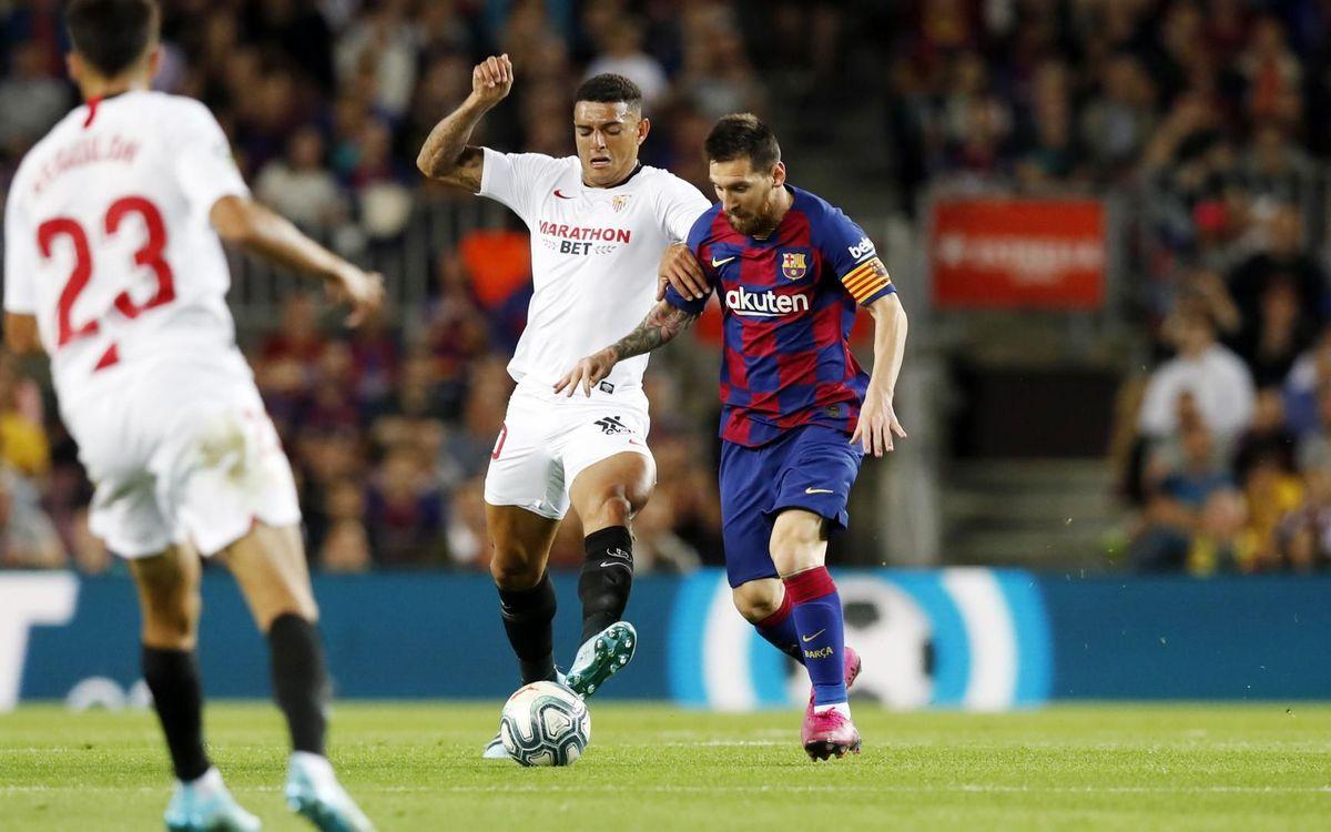 Sevilla - Barça: Duel d'alçada al Pizjuán