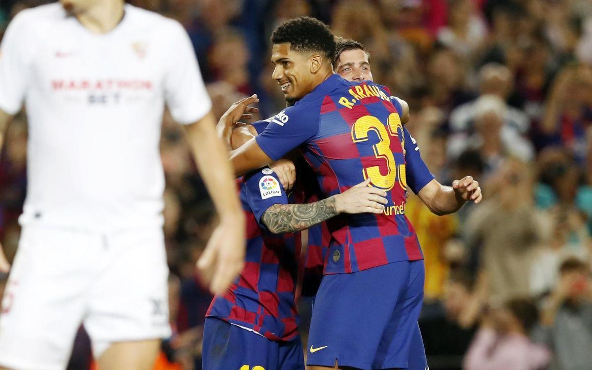 صور مباراة : برشلونة - إشبيلية 4-0 ( 06-10-2019 )  Mini_2019-10-06-BARCELONA-SEVILLA-81