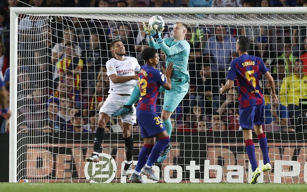 صور مباراة : برشلونة - إشبيلية 4-0 ( 06-10-2019 )  Mini_2019-10-06-BARCELONA-SEVILLA-91