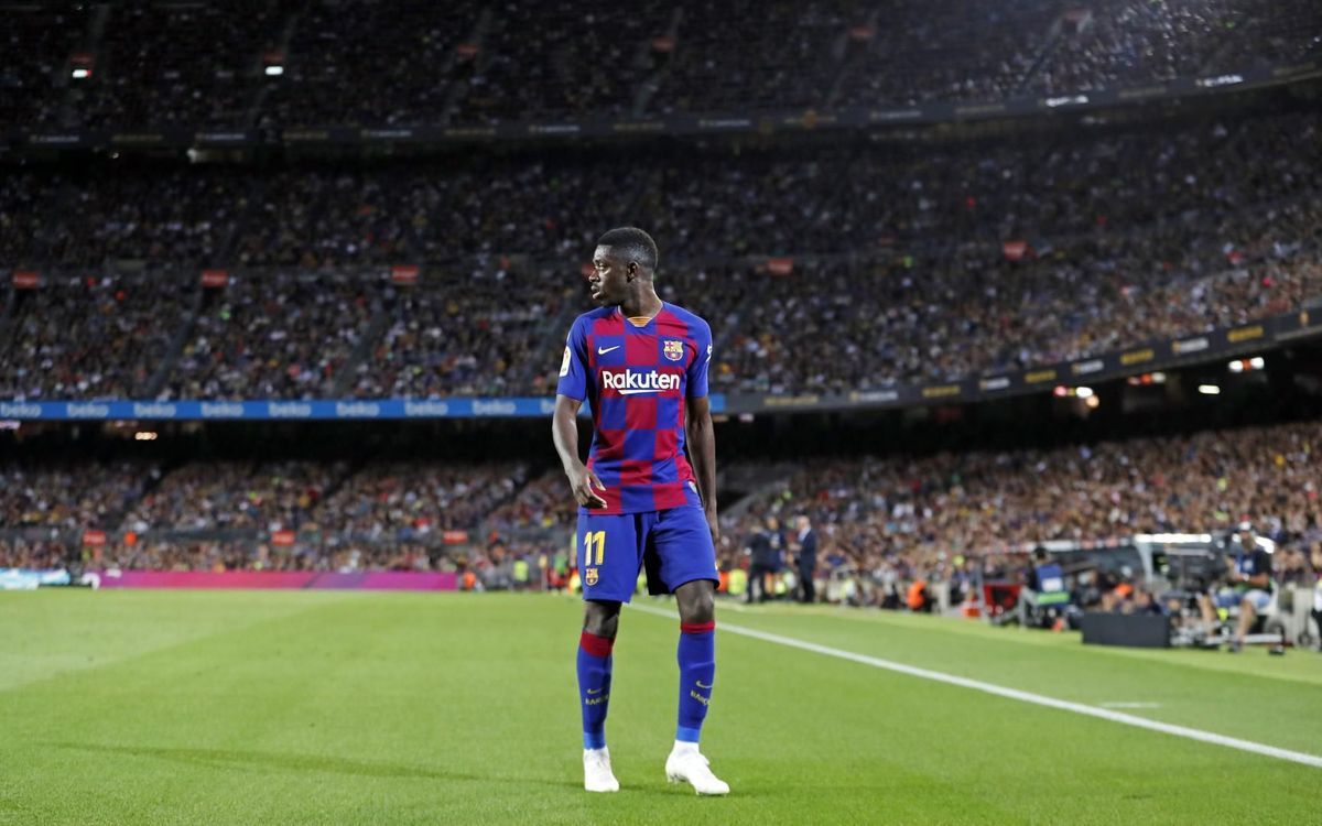 FC Barcelona to appeal against Dembélé and Araujo bans
