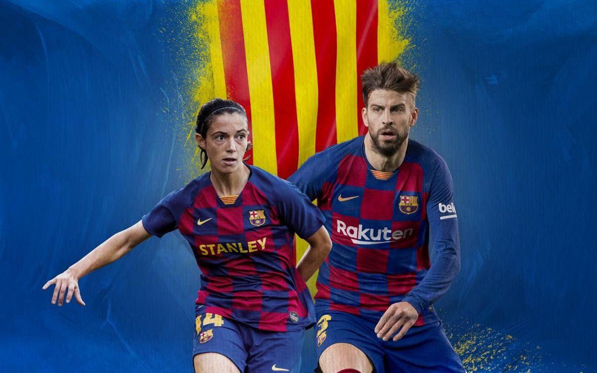 Gerard Piqué y Aitana Bonmatí, mejores jugadores catalanes de la temporada 2018/19
