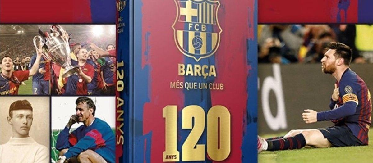 Descuento exclusivo para los socios en la compra del libro del 120 aniversario del Barça